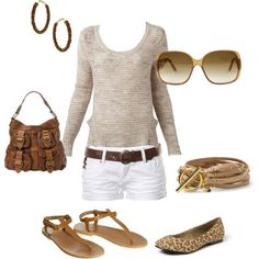 """""""Outfit of the week - Summer Neutrals"""" by kateholland on Polyvore"""