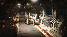 ArtStation - Sci-Fi Corridor. Modular environment v2., Sergey Tyapkin