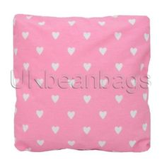 Still time to order these #cotton #cushions for your #valentine or even to treat yourself. #Bolsters and #cubes to match.  #pink #heart #homeandliving #homeandgarden #beanbags