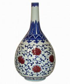 I-051-18-BR | Fine Porcelain Lamps Vases