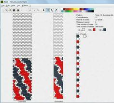 Картинки по запросу schémas spirales crochetées en perles