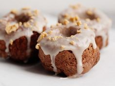 Bisquick Doughnuts- a conglomerate of recipes for easy making with my homemade whole wheat mix. Yes.