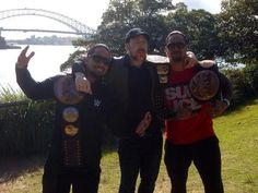The Usos and Sheamus Wwe Sheamus, Warrior Workout, Celtic Warriors, Wrestling Wwe, Wwe Wrestlers, Professional Wrestling, Redheads, Superstar, Champion
