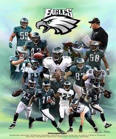 Philadelphia Eagles by Wishum Gregory  e7c5da748