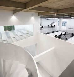 daxing factory conversion by tsutsumi associates airbnb office london threefold