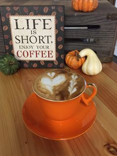 #HappyEquinox !! More cool mornings and evenings to enjoy your #coffee #HappyFall #AutumnEquinox #harvest17 #yummycoffee