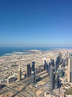 At the top - Burj Khalifa. Soaring heights!