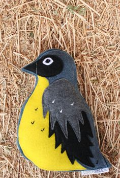 Forest Critters Mama Bird with Eggs in Bird Nest by SavageSeeds, $35.00
