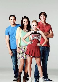 Glee- Marly, Jake, Kitty, and Ryder