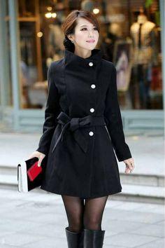 Cream Wool Shawl Collar Pea Coat   Coats, Products and Cream