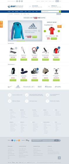 Shop Web Design