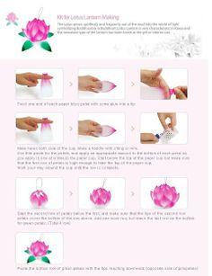 How to Make a Lotus Lantern