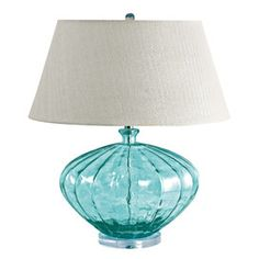 Finley Table Lamp in Melon