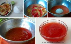 Geleia de casca de maçã