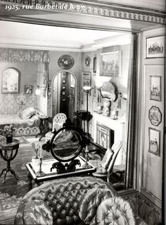 Jeanne Lanvin's Apartment (1920–22) by Armand-Albert Rateau