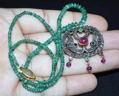 ESTATE art deco? victorian? 14k gold and silver ruby emerald sapphire rose cut diamond… - https://www.luxury.guugles.com/estate-art-deco-victorian-14k-gold-and-silver-ruby-emerald-sapphire-rose-cut-diamond/