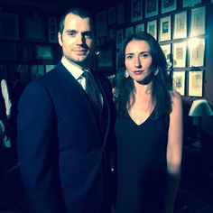#Dunhill#AW16 men's collection#with Henry Cavill @luciarestani