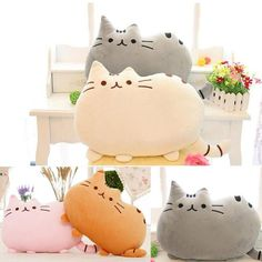 Help me win a Pusheen the Cat Plush Pillow from @TotemoKawaiiShop