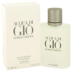 Gumroad - Acqua Di Gio Eau De Toilette Spray 1.7oz 3.3 oz 6.7oz by Giorgio…