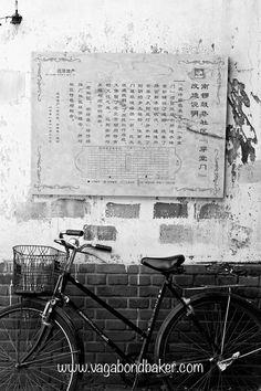 Beijing Hutongs // China . Bicycle