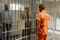 Caleb behind bars