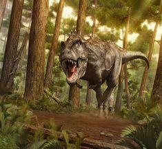 T-Rex attack by Vlad Konstantinov, Swordlord3d on deviantART