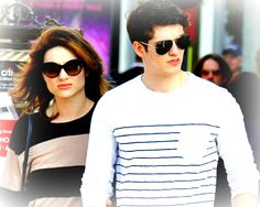Wallpaper of Crystal Reed and Daniel Sharman for fans of Crystal Reed.
