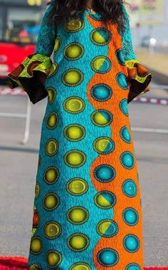 Ethnic African Ankara Maxi Dress with Dentelle Ankara Maxi Dress, African Maxi Dresses, African Fashion Ankara, Latest African Fashion Dresses, African Print Fashion, African Attire, African Wear, African Prints, Africa Fashion
