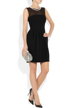 Moschino Cheap and Chic dress, Valentino clutch, Jimmy Choo shoes
