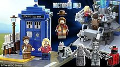 dr. who lego set