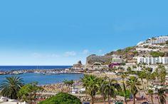 """Puerto Rico er """"solens by"""" - her skinner solen altid, og det er måske derfor, at det er danskernes favorit-by! Se mere på www.apollorejser.dk/rejser/europa/spanien/de-kanariske-oer/gran-canaria"""