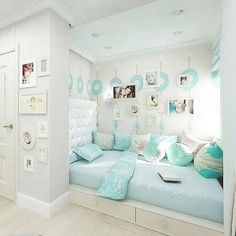 Exciting Teen Girl Bedrooms example 2398881450 - Uncomplicated and exceptional teen room decor examples and inspirations. For other spectacular decor designs please pop to the pin image now. Teenage Girl Bedrooms, Teen Bedroom, Home Bedroom, Bedroom Decor, Master Bedroom, Bedroom Curtains, Modern Bedroom, Bedroom Furniture, Mirror Bedroom