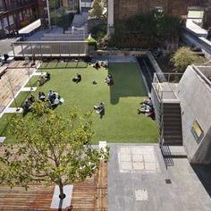 RMIT University Lawn by Peter Elliott Pty Ltd Architecture + Urban Design « Landscape Architecture Works | Landezine