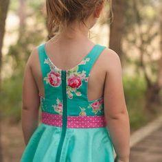 Toddler Summer Dresses, Toddler Skirt, Little Girl Dresses, Girls Dresses, Skirts For Kids, Girl Dress Patterns, Kids Frocks, Baby Dress, Kids Outfits