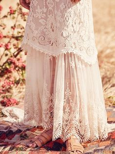 Spell & the Gypsy Collective x Free People Casablanca Lace Halter Gown at Free People Clothing Boutique