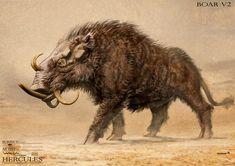 erymanthian boar - Google Search