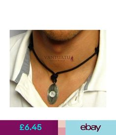Chains, Necklaces & Pendants Surfing Wave Riders Mens Pendant Necklace Man Surf Board Leather Rope Cord Strap #ebay #Fashion