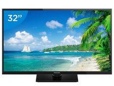 "TV LED 32"" Panasonic Viera TC-32A400B - Conversor Digital 2 HDMI 1 USB"