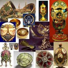 Between 1885 and 1916, fifty-four Imperial Faberge eggs were specially made by the Tsars Alexander III and Nicholas II as easter presents for the Tsarinas Marie and Alexandra Feodorovna. Grabbing the eye of Empress Maria Feodorovna with his striking reproductions of Russian archaeological treasures, Faberge was named Supplier by Special engagement to the Imperial Court in 1885.