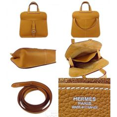 leather bag pattern Hermes Halzan pattern bag sewing pattern PDF instant…