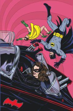 Batman '66 #29 by Mike Allred * - Art Vault