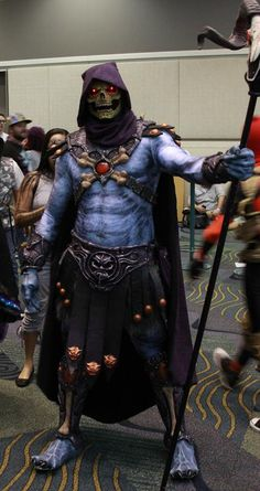 That is one badass Skeletor.
