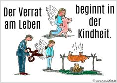 The Betrayal begins in the childhood.  https://www.maxundfine.de/2017/06/09/der-verrat-am-leben #vegan
