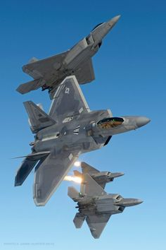 Lockheed F-22 Raptors                                                                                                                                                                                 More