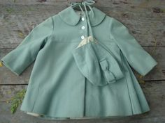 This is such an adorable little wool coat for baby girls or small toddlers. Description from etsy.com. I searched for this on bing.com/images