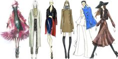 The Making of #NYFW: Designer Sketches and Inspiration  - ELLE.com
