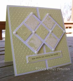 The Paperquilter: Inchies card