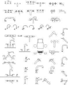 Autocad Blocks Plumbing For Kitchen Licensed Hvac And Plumbing