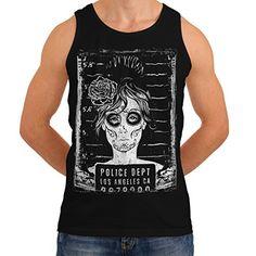 Wellcoda   Police Department FBI Mens NEW LA Girls Black Tank Top L Wellcoda http://www.amazon.co.uk/dp/B00PG6440A/ref=cm_sw_r_pi_dp_ekqexb09SAED2