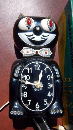 kat clocks | Vintage KIT KAT CLOCK | It's Time
